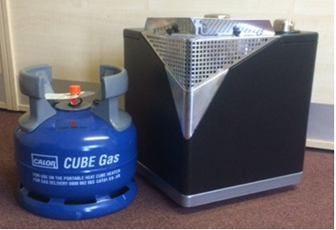 Calor Gas Heat Cube Package - Portable Heater and Gas Bottle