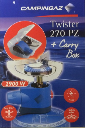 Twister 270PZ and Carry Box