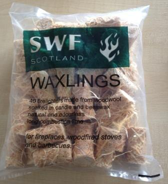 Waxlings Firelighters - Pack of 40 - Click Image to Close